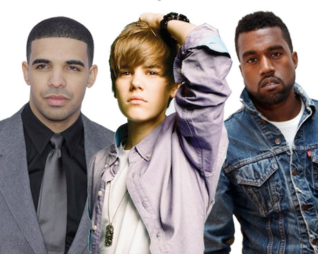 Justin Bieber Taps Kanye West and Drake for New Album