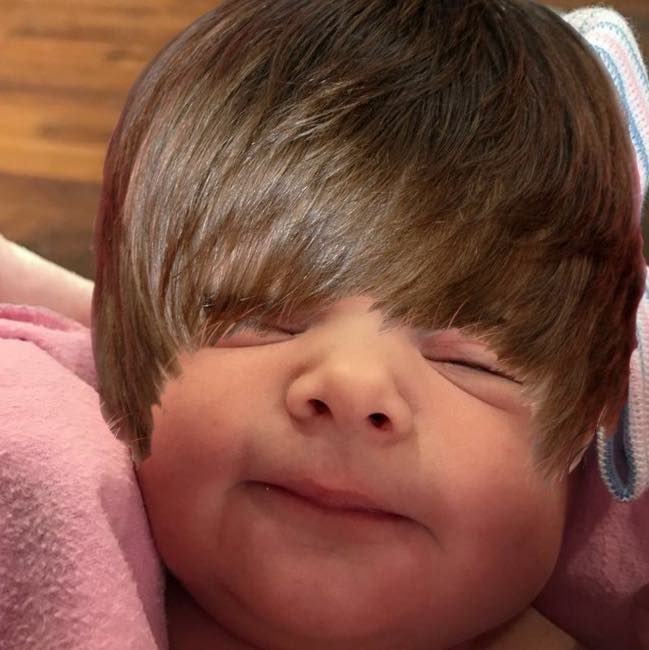 ​Justin Bieber Has a New Baby Sister