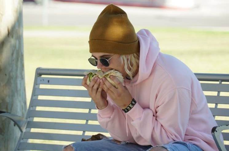 The Way Justin Bieber Eats Burritos Will Ruin Your Life