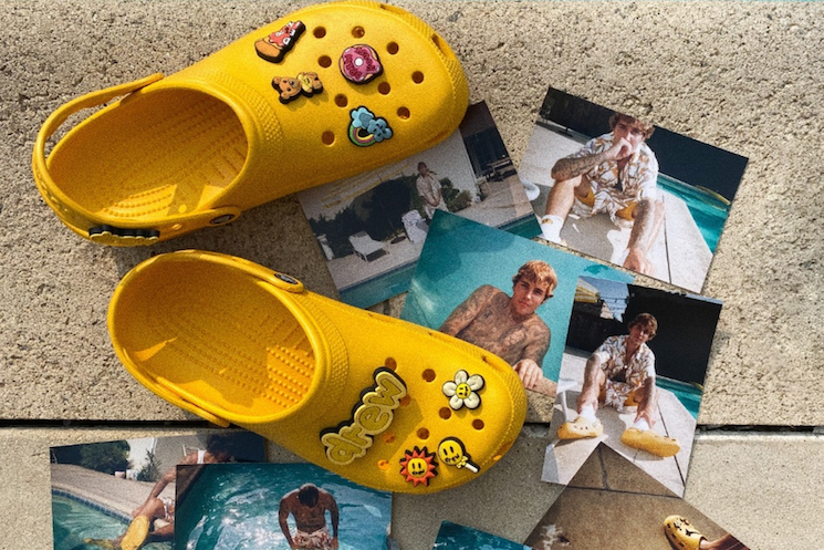 Justin Bieber Unveils Inevitable Crocs Collaboration