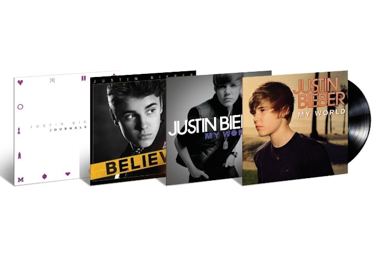 Justin Bieber's First Four Albums Finally Get Vinyl Release