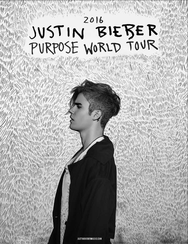 Justin Bieber Unveils 'Purpose World Tour'