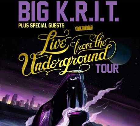 Big K.R.I.T. Announces 'Live from the Underground' Tour Dates, Plays Vancouver