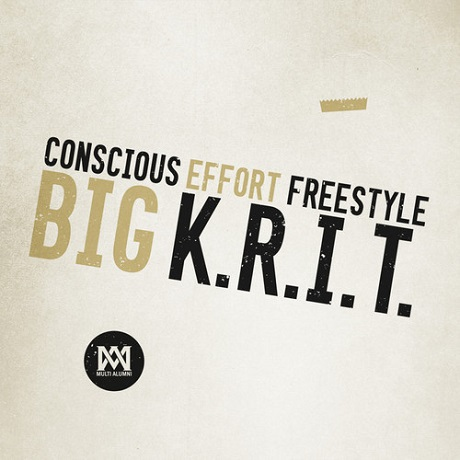 "Big K.R.I.T. ""Conscious Effort Freestyle"""