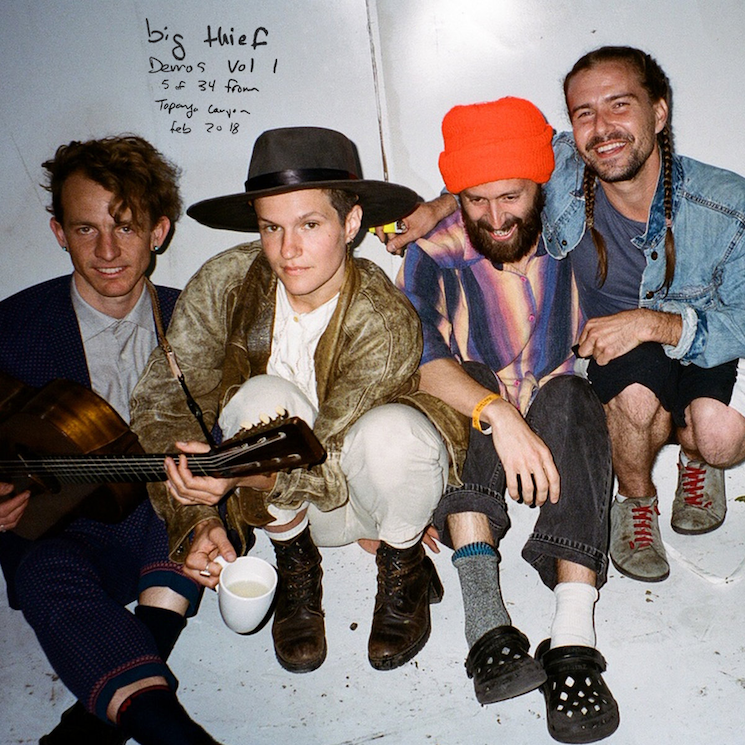 Big Thief Drop Album of Unreleased Demos in Support of Displaced Road Crew