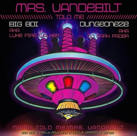 "Big Boi ""Mrs. Vandebilt"" (ft. Kelly Rowland and Little Dragon)"