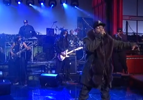Big Boi 'Apple of My Eye' (live on 'Letterman')