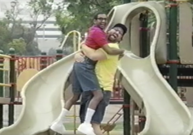 Watch Eric Wareheim and Aziz Ansari Pal Around in a Weird Unaired CBS Pilot