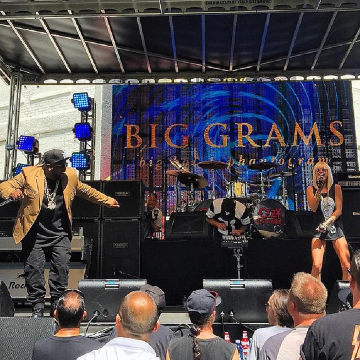 Big Boi and Phantogram Make Live Debut as Big Grams