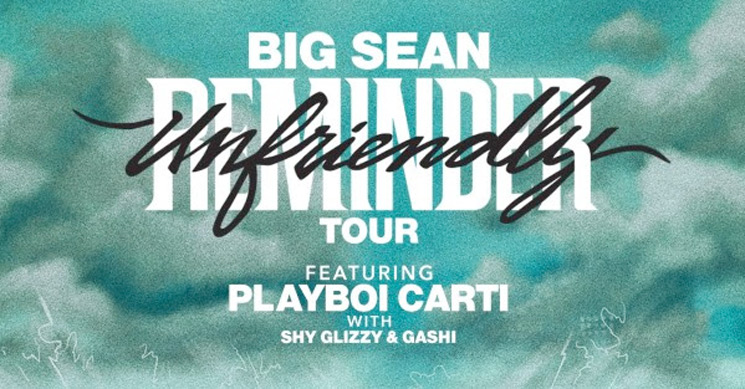 "Big Sean and Playboi Carti Team Up for ""Unfriendly Reminder Tour"""