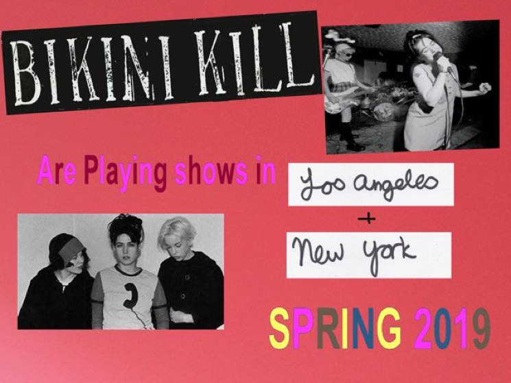 ​Bikini Kill Reunite for 2019 Live Shows