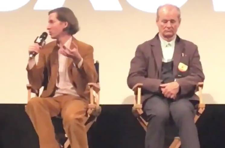 ​Bill Murray Took a Nap Onstage at the SXSW Premiere of 'Isle of Dogs'