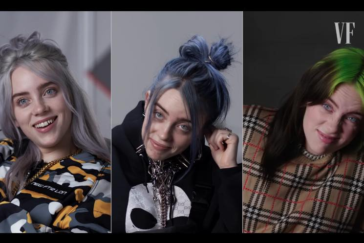 ​Watch Billie Eilish Do the Same Interview Three Times in Three Years