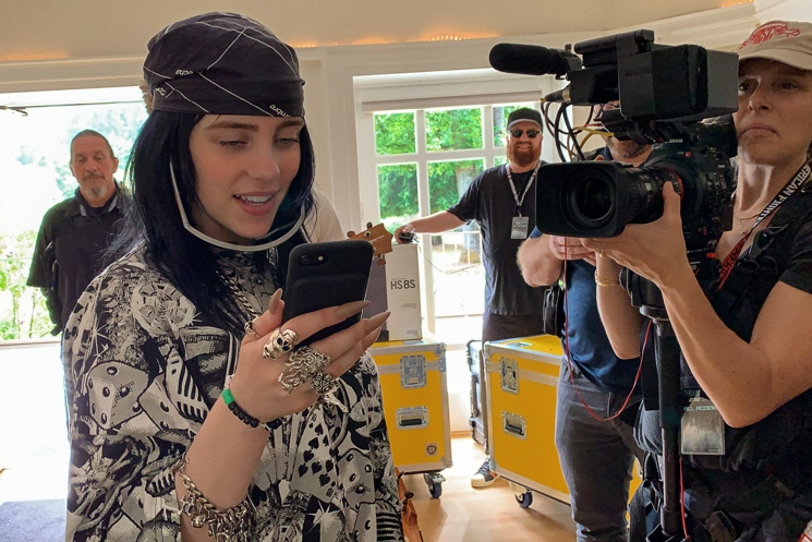 'The World's a Little Blurry' Makes Billie Eilish a Little Clearer Directed by R.J. Cutler
