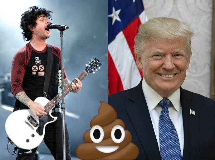 "Green Day's Billie Joe Armstrong Says Donald Trump ""Gives Me Diarrhea"""