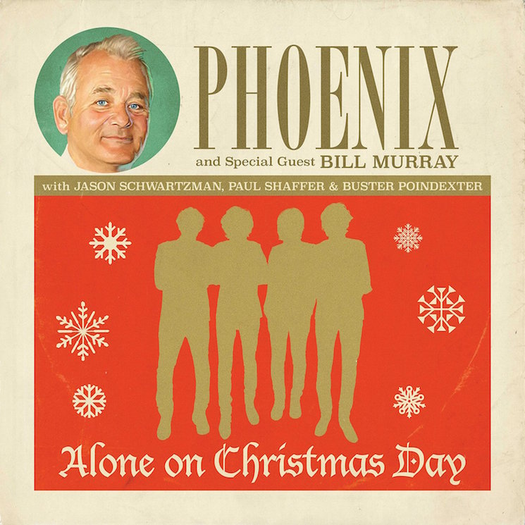Bill Murray Teams Up with Phoenix for 7-Inch, Teases Christmas Special