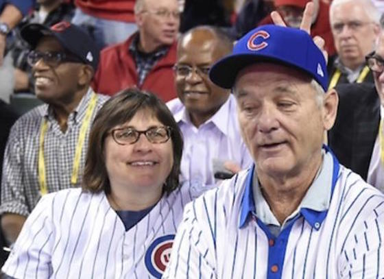 Bill Murray Treats Random Chicago Cubs Fan to Best Seat in the House