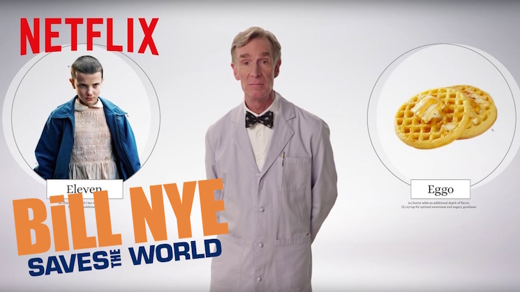 Watch Bill Nye Explain the Science of 'Stranger Things'
