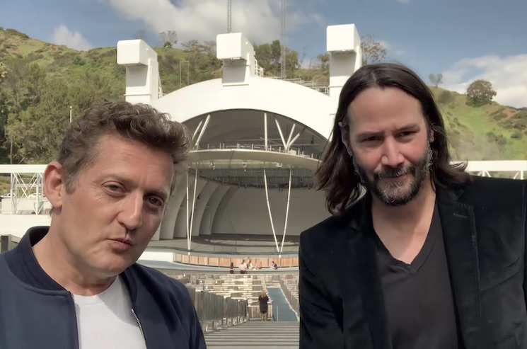 Keanu Reeves and Alex Winter Confirm 'Bill & Ted Face the Music' in New Video