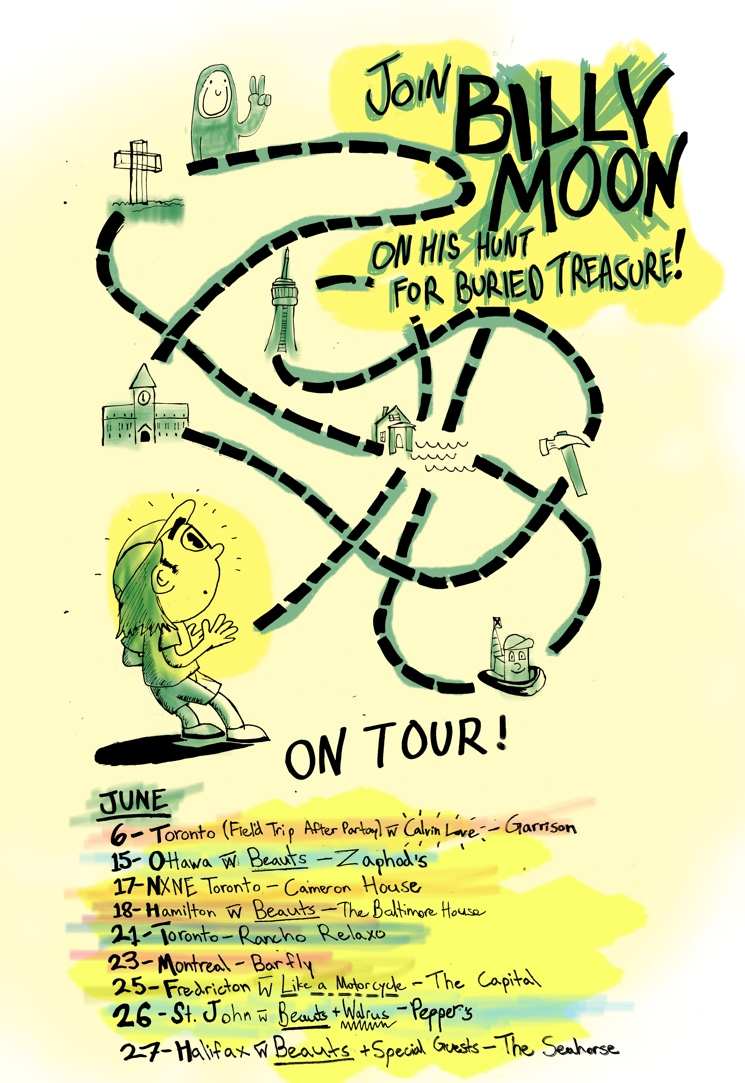 Billy Moon Head Out on Canadian Tour
