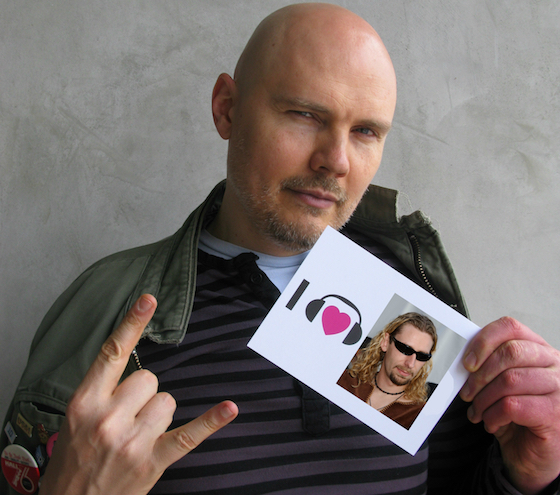 "Billy Corgan on Nickelback's Chad Kroeger: ""He's an Incredible Songwriter"""