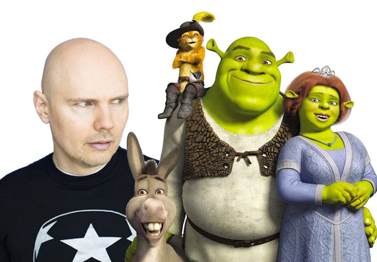 Billy Corgan Says Smashing Pumpkins Were Asked to Do the 'Shrek' Soundtrack Before Smash Mouth