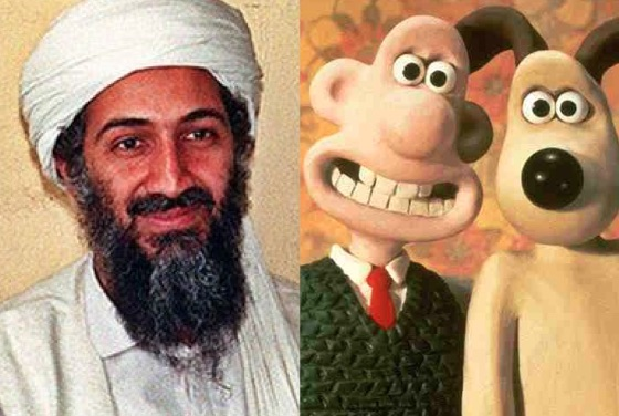 Osama Bin Laden's Computer was Full of 'Wallace & Gromit,' 'Shaun the Sheep' and 'Tom & Jerry' Videos