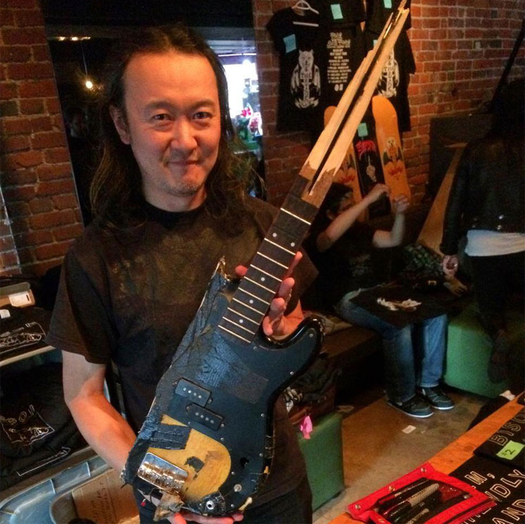 Bison Announce Departure of Founding Bassist Masa Anzai
