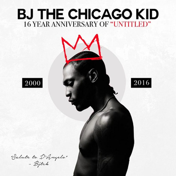 BJ the Chicago Kid Pays Tribute to D'Angelo on Covers EP