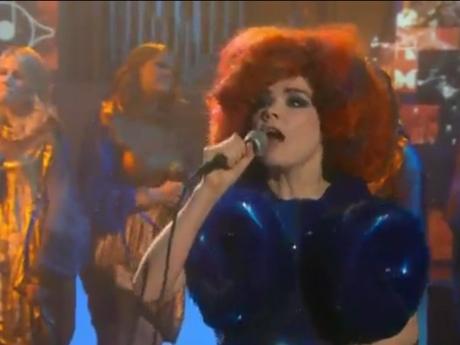 """Björk """"Cosmogony"""" (live on 'Colbert')"""