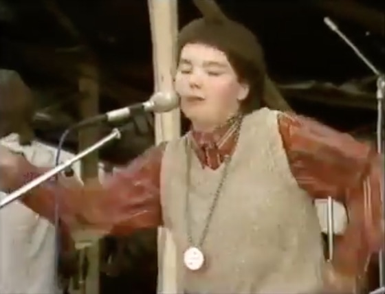 Watch a Teenage Björk Perform with Her '80s Punk Band