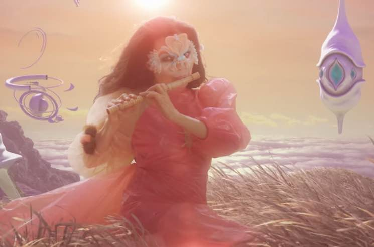 ​Read Björk Interview Herself About Flutes, Arca and Donald Trump
