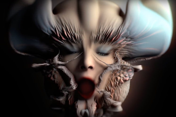 "Björk Shares Freaky ""Losss"" Video"
