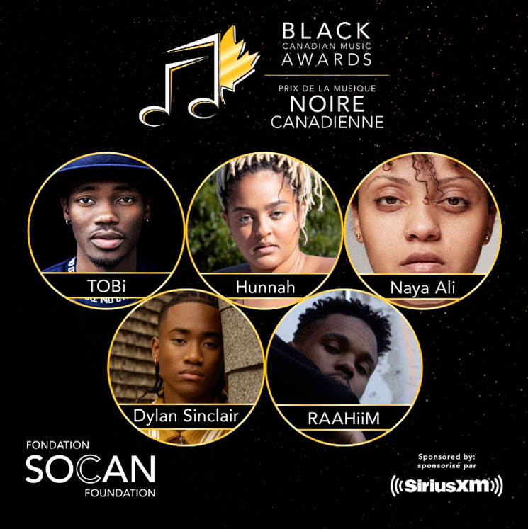 Here Are the Winners of the First Black Canadian Music Awards