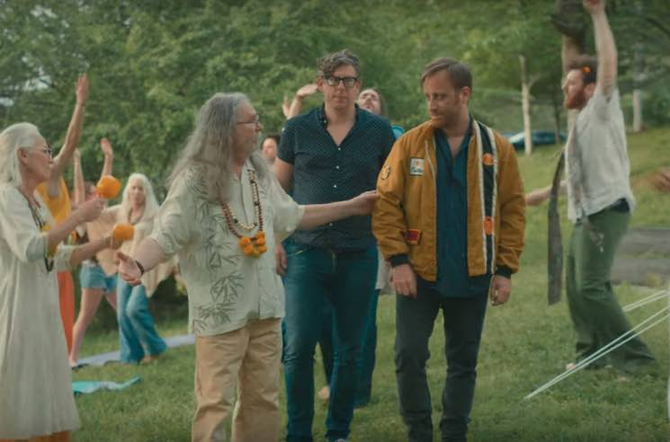 "The Black Keys Reunite at a Hippie Commune in ""Go"" Video"