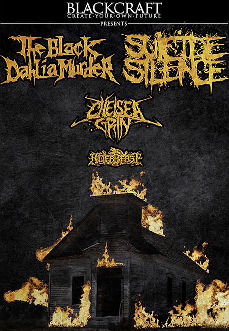 The Black Dahlia Murder / Suicide Silence / Chelsea Grin Opera House, Toronto ON, October 6