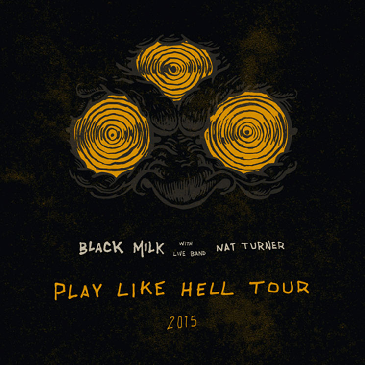 "Black Milk Maps Out ""Play Like Hell"" Tour"
