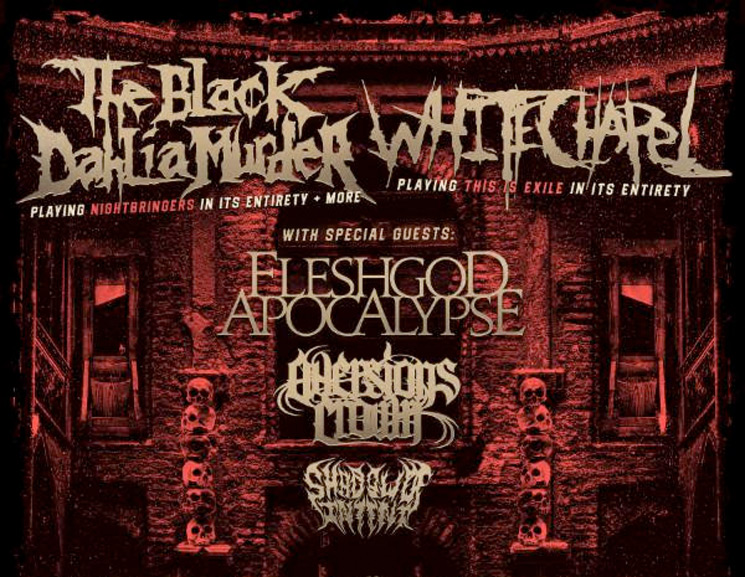 The Black Dahlia Murder and Whitechapel Join Forces for Co-Headlining North American Tour