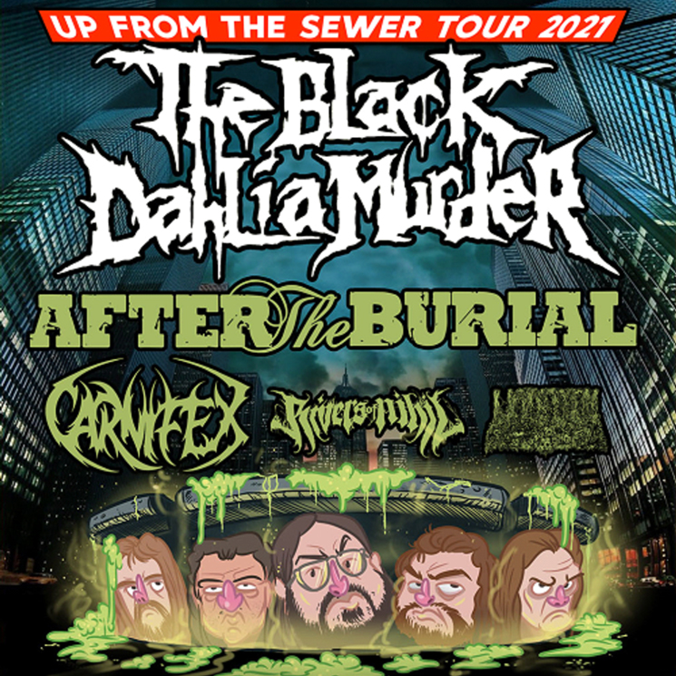 The Black Dahlia Murder, After the Burial, Carnifex to Play Canada on North American Tour