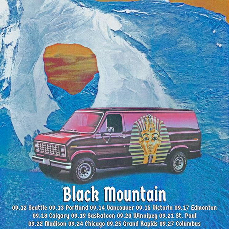 Black Mountain Hit Canada on 'Horns Arising Tour'