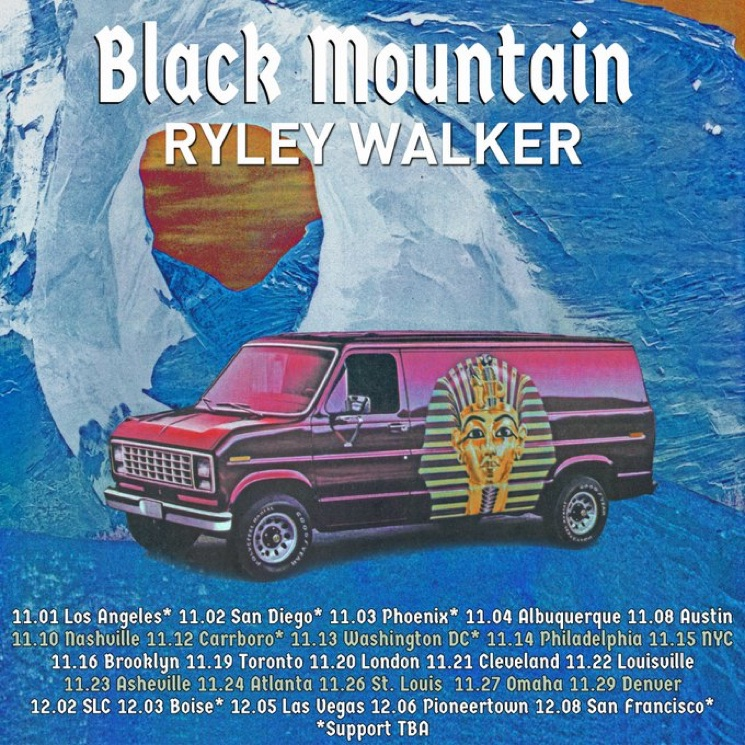 Black Mountain Extend North American Tour