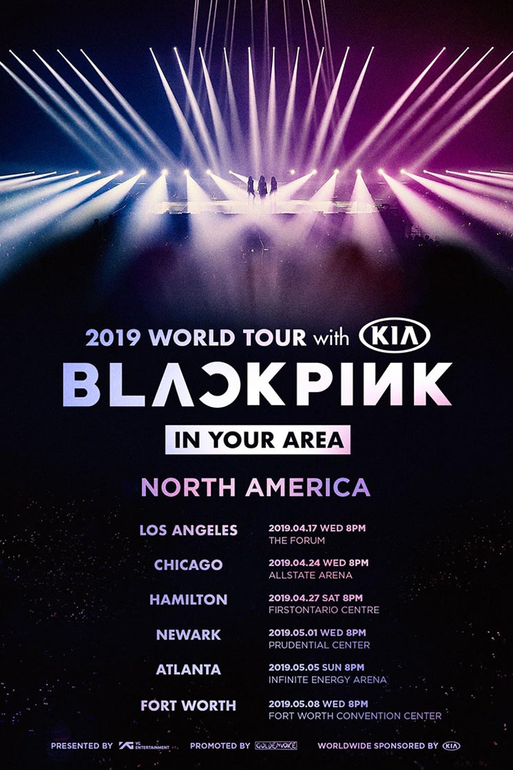 BLACKPINK to Play Hamilton on North American Tour