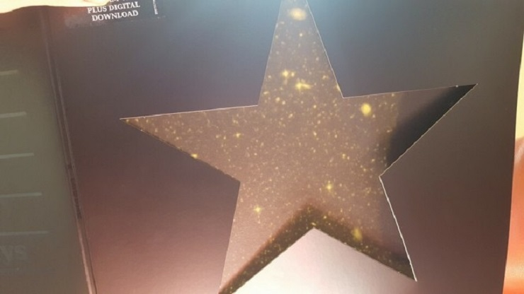 "Putting David Bowie's 'Blackstar' Album in the Sun Exposes Secret ""Starfield"""