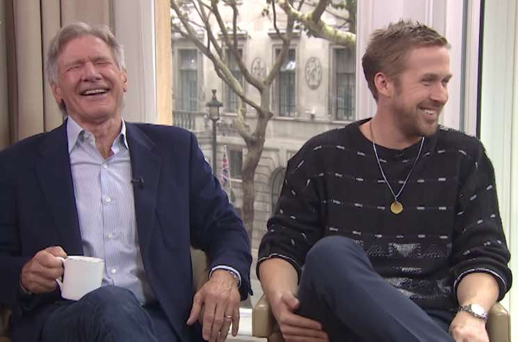 ​Watch Harrison Ford and Ryan Gosling Lose It in This Hilarious 'Blade Runner 2049' Interview
