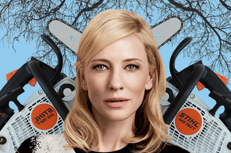 Cate Blanchett Involved in 'Chainsaw Accident' During Lockdown