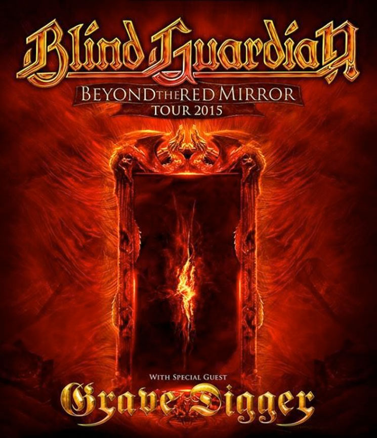 Blind Guardian Take 'Beyond the Red Mirror' on North American Tour