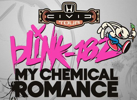 Blink-182 and My Chemical Romance Hit Up Canada on Joint North American Tour
