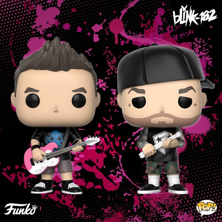 Two Members of Blink-182 Are Being Immortalized as Funko Pops