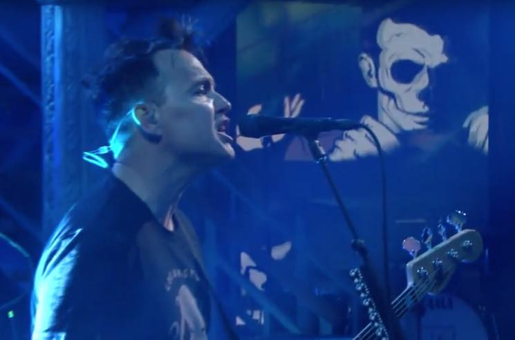 "​Watch Blink-182 Blast Through ""Bored to Death"" on Colbert"