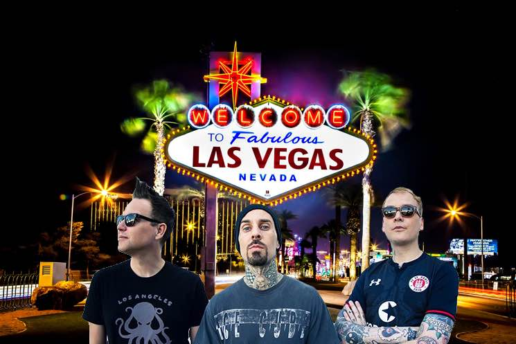 Blink-182 shares plans for first-ever Las Vegas residency